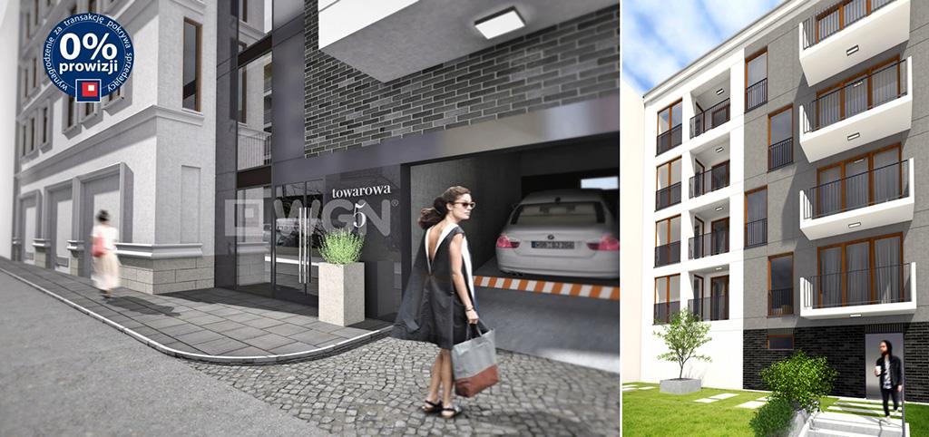 na zdjęciu widok z zewnątrz na apartamentowiec, w Sosnowcu, w którym znajduje się oferowany apartament na sprzedaż
