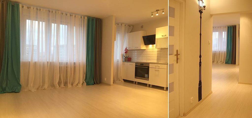 zdjęcie przedstawia luksusowe wnętrze w apartamencie w Szczecinie do sprzedaży