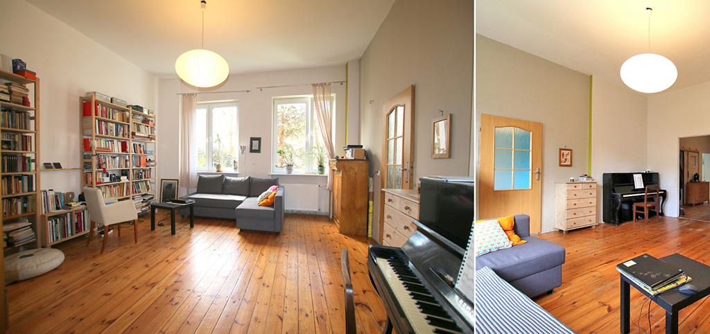na zdjęciu wnętrze ekskluzywnego apartamentu do sprzedaży w Szczecinie Centrum