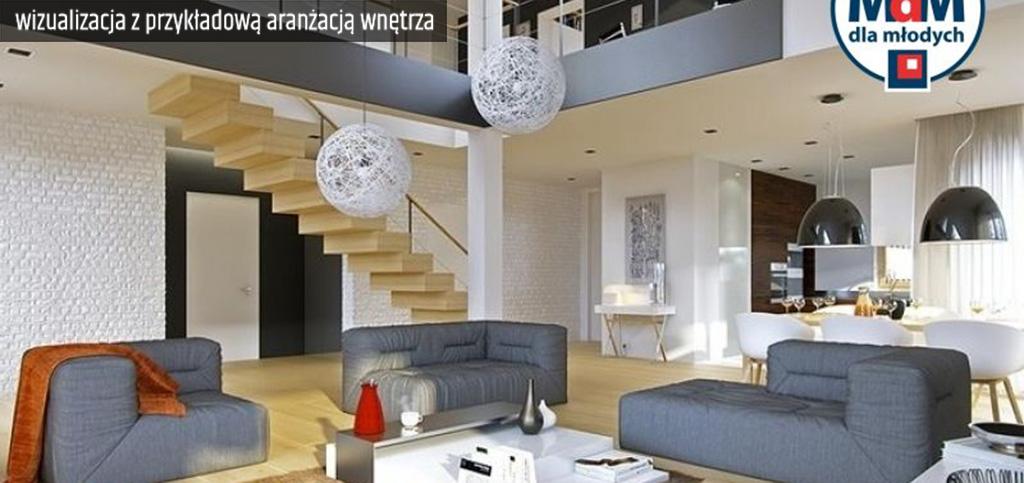 na zdjęciu przykładowa wizualizacja wnętrza luksusowego apartamentu do sprzedaży w Legnicy