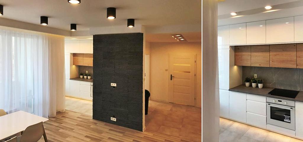 na zdjęciu ekskluzywne wnętrze luksusowego apartamentu na sprzedaż w Białymstoku