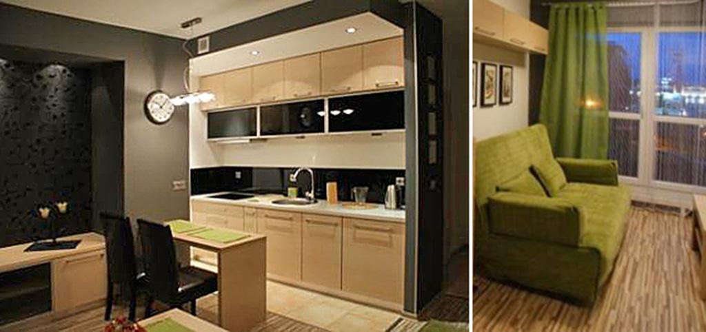 na zdjęciu ekskluzywne wnętrze luksuowego apartamentu do wynajęcia w Katowicach