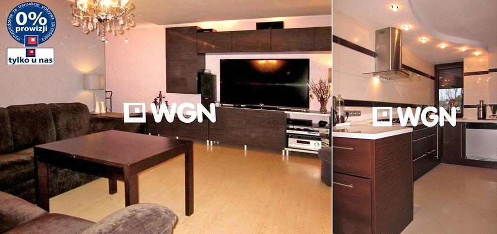 na zdjęciu komfortowy salon w luksusowym apartamencie do sprzedaży w Legnicy