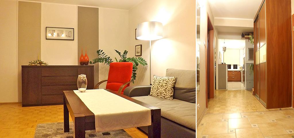 zdjęcie prezentuje ekskluzywne wnętrze luksusowego apartamentu do sprzedaży w Lublinie