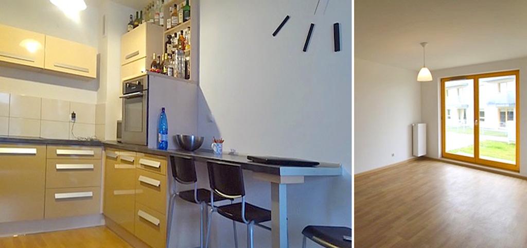 zdjęcie prezentuje wnętrze ekskluzywnego apartamentu do sprzedaży w Szczecinie