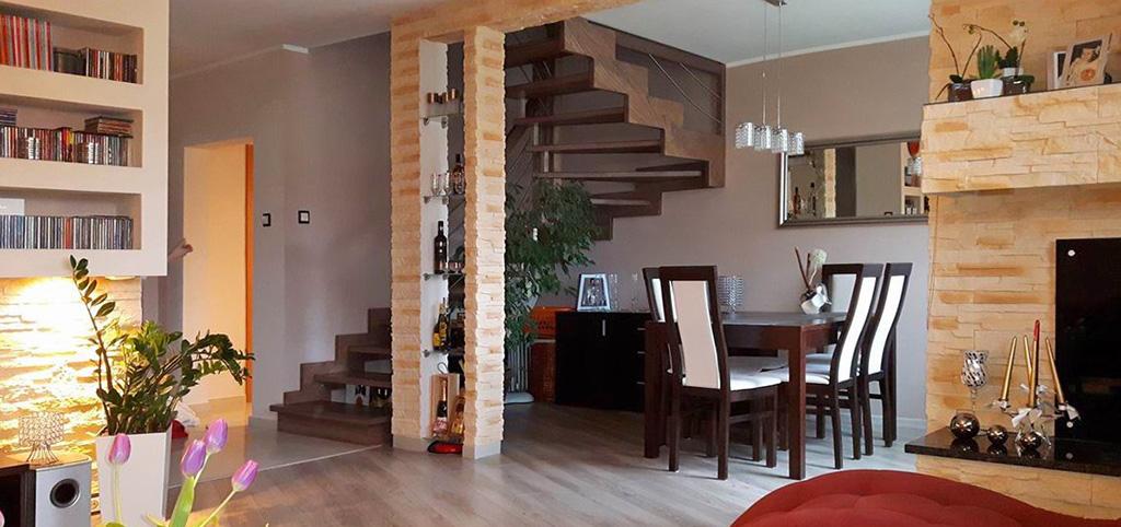 na zdjęciu nowoczesne i komfortowe wnętrze luksusowego apartamentu na sprzedaż w Szczecinie