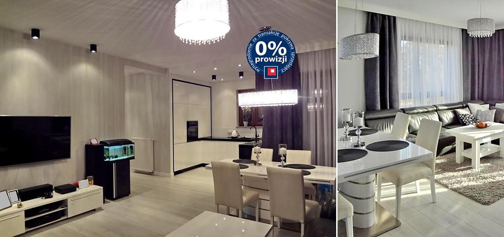 zdjęcie prezentuje luksusowy salon w apartamencie do sprzedaży w Szczecinie
