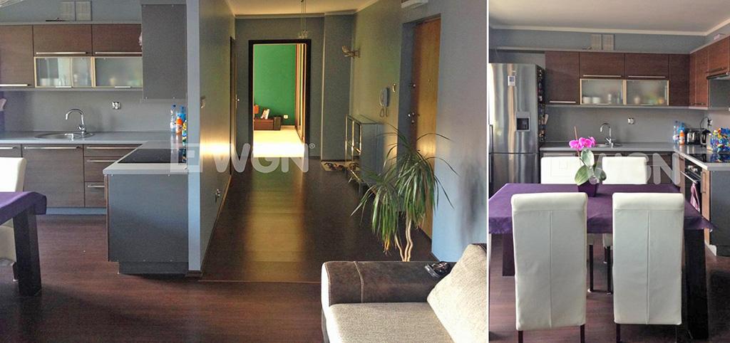 na zdjęciu luksusowe wnętrze apartamentu do wynajęcia w Szczecinie