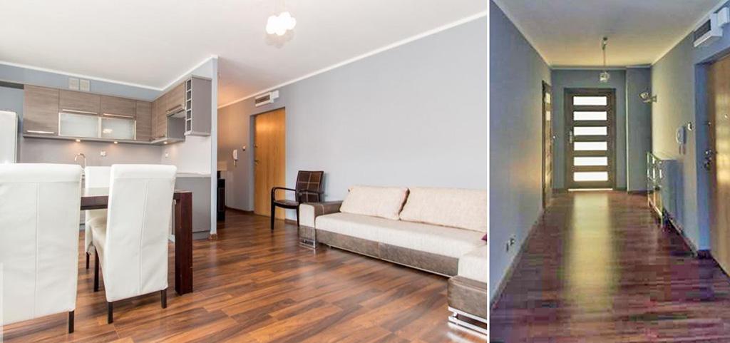 zdjęcie prezentuje wnętrze luksusowego apartamentu do wynajęcia w Szczecinie