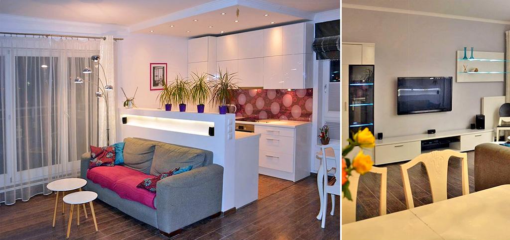 na zdjęciu luksusowe wnętrze ekskluzywnego apartamentu na wynajem w Szczecinie