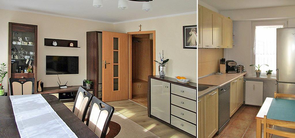 komfortowo wyposażone wnętrze ekskluzywnego apartamentu do sprzedaży w Białymstoku