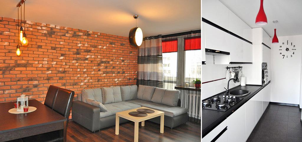 zdjęcie prezentuje ekskluzywne wnętrze w luksusowym apartamencie do sprzedaży w Katowicach