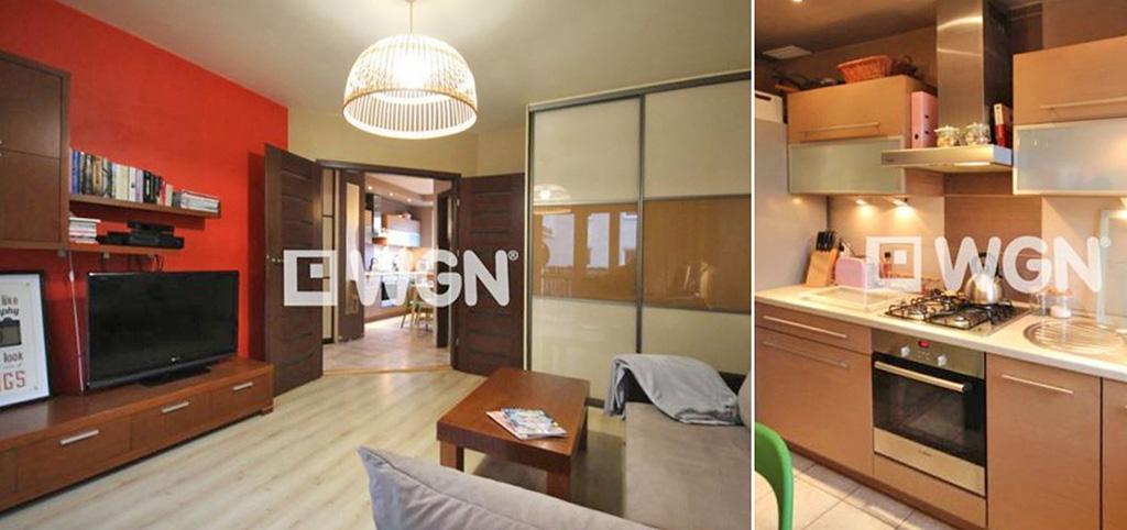 na zdjęciu ekskluzywne wnętrze luksusowego salonu w apartamencie na sprzedaż w Szczecinie