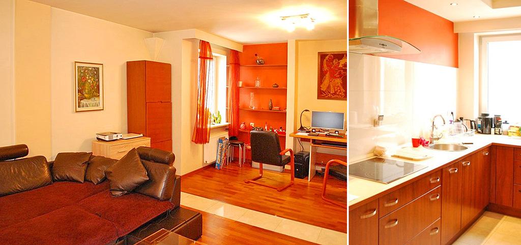 zdjęcie przedstawia luksusowe wnętrze ekskluzywnego apartamentu do sprzedaży w Warszawie