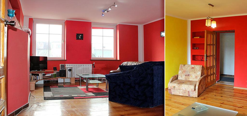 zdjęcie przedstawia salon w luksusowym apartamencie do sprzedaży na Mazurach
