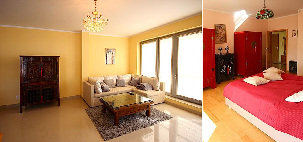 wnętrze ekskluzywnego apartamentu do sprzedaży w Szczecinie