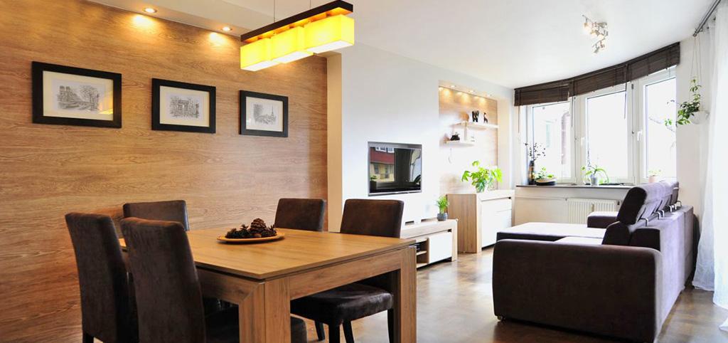 luksusowe i nowoczesne wnętrze apartamentu w okolicach Katowic na sprzedaż