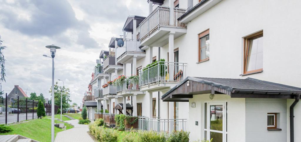 na zdjęciu apartamentowiec we Wrocławiu, w którym znajduje się oferowany na sprzedaż luksusowy apartament