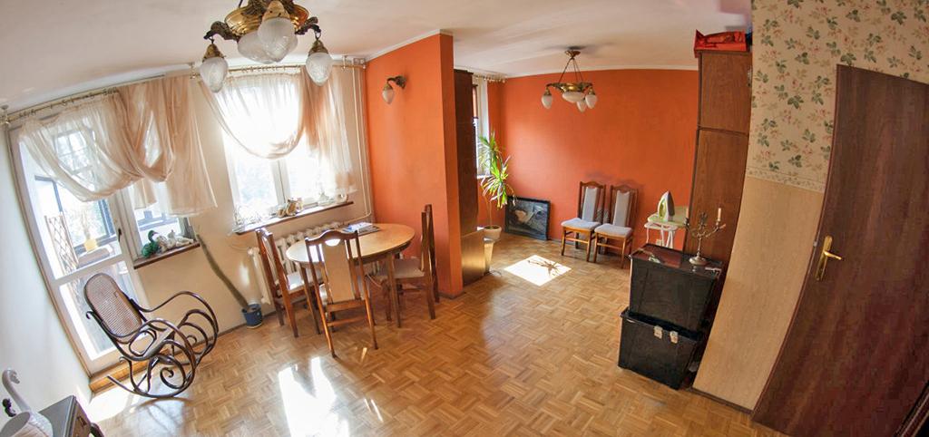 na zdjęciu komfortowe wnętrze luksusowego apartamentu do sprzedaży we Wrocławiu