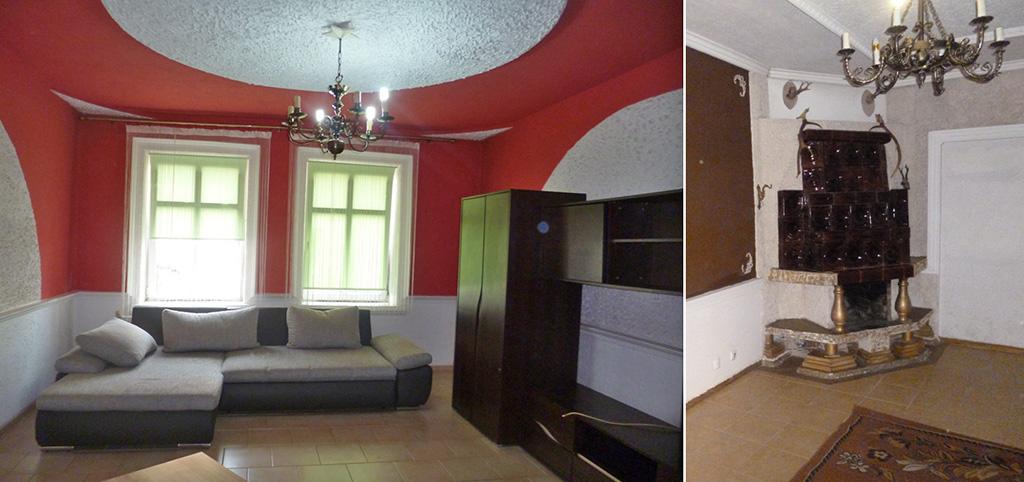 na zdjęciu salon w komfortowym apartamencie do sprzedaży w okolicy Łodzi