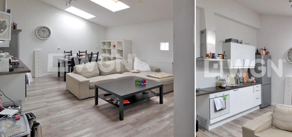widok na luksusowe wnętrze ekskluzywnego apartamentu do wynajęcia w Szczecinie
