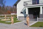 taras przy luksusowej rezydencji na sprzedaż Będzin
